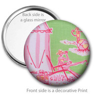 Sunbather Pocket Mirror