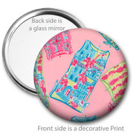 Shift Dresses Pocket Mirror