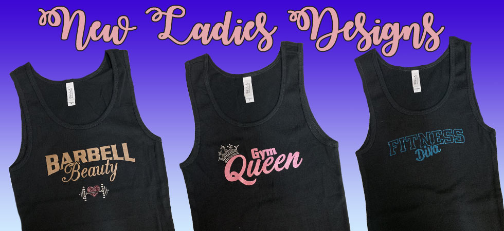 New ladies tanks Gym Queen