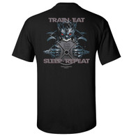 Train-Eat-Sleep-Repeat T-shirt