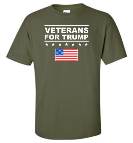 Veterans for Trump T-shirt