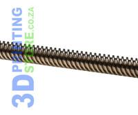Lead Screw, 8mm, Length: 300mm