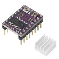 Stepper motor driver, DRV8825, with heat sink