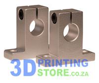 Aluminium Rod Mount for 12mm rod, SK12, 1 Pair