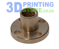 Lead Screw Nut, 8mm, Brass