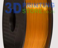 PLA Transparent Filament, 1kg, 1.75mm, Orange