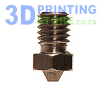 Stainless Steel Nozzle compatible with E3D Metal Hot End, 0.4mm Nozzle, 1.75mm Filament