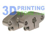 Aluminium Rod Mount for 8mm rod, SHF8, 1 Pair
