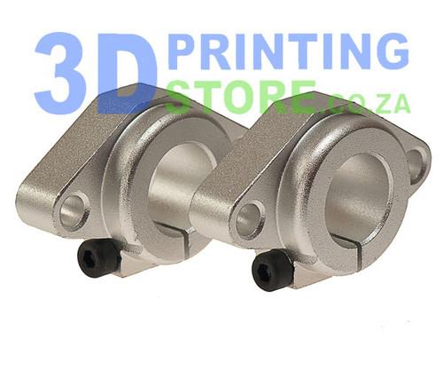 Aluminium Rod Mount for 16mm rod, SHF16, 1 Pair