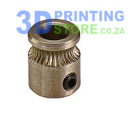 Extruder Gear for direct drive extruder, MK8, Stainless Steel