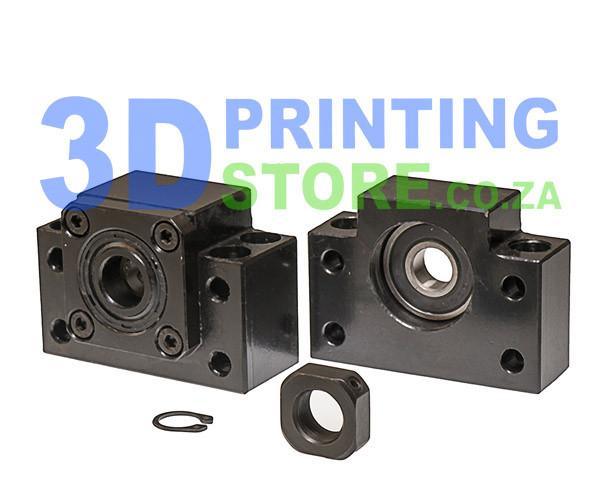 3sets BK//BF bearing mounts end supports 3 anti backlas ballscrews