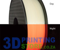 Cron PLA Glow in the Dark Filament, 1kg, 1.75mm, Red