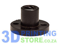 Lead Screw nut, 8mm, Delrin