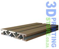120 x 20 Aluminium T-Slot Profile