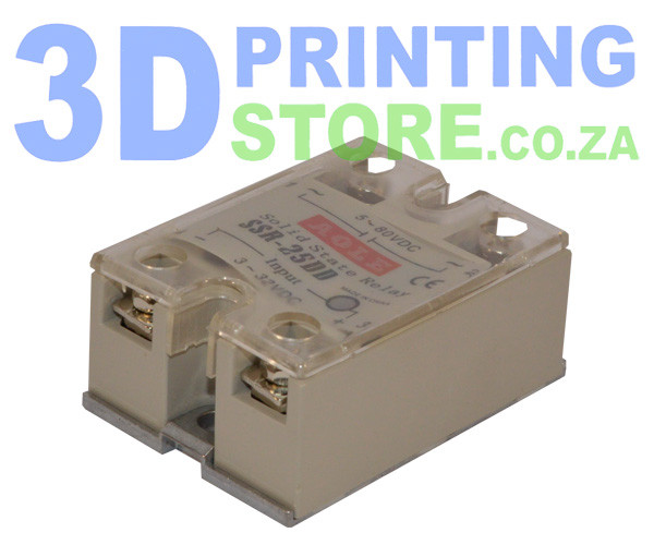 Solid State Relay, 25A, DC output