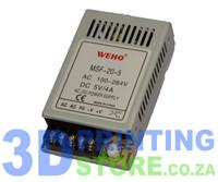 Power Supply, 20W, 5V, 4A