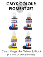 Monocure CMYK Pigment Set, 4x30ml