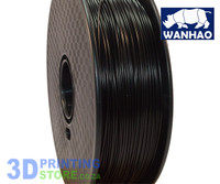 Wanhao PLA FIlament, 1Kg, 1.75mm, Black