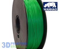 Wanhao PLA FIlament, 1Kg, 1.75mm, Green