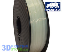 Wanhao PLA FIlament, 1Kg, 1.75mm, Transparent