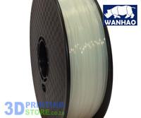 Wanhao PLA FIlament, 1Kg, 1.75mm, Transparent