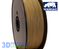 Wanhao PLA FIlament, 1Kg, 1.75mm, Wood