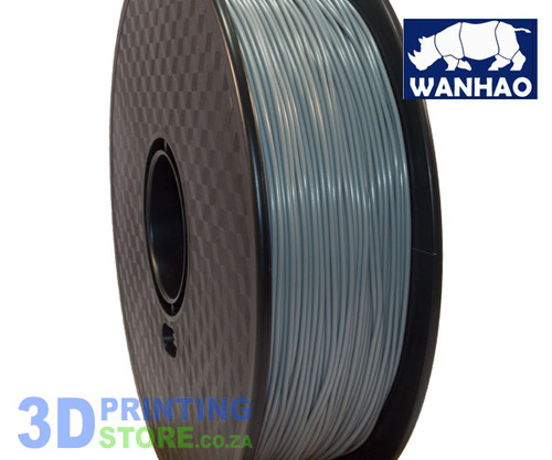 Wanhao ABS FIlament, 1Kg, 1.75mm,  Slate Grey