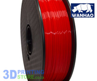 Wanhao ABS FIlament, 1Kg, 1.75mm, Red