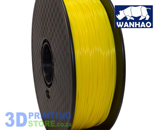 Wanhao ABS FIlament, 1Kg, 1.75mm, Yellow