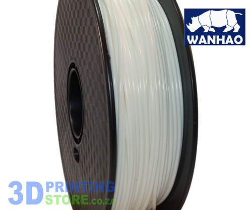Wanhao PLA FIlament, 1Kg, 3mm, White