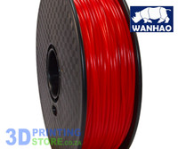 Wanhao PLA FIlament, 1Kg, 3mm, Red