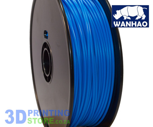 Wanhao PLA FIlament, 1Kg, 3mm, Blue