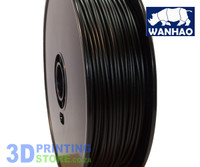 Wanhao ABS FIlament, 1Kg, 3mm, Black