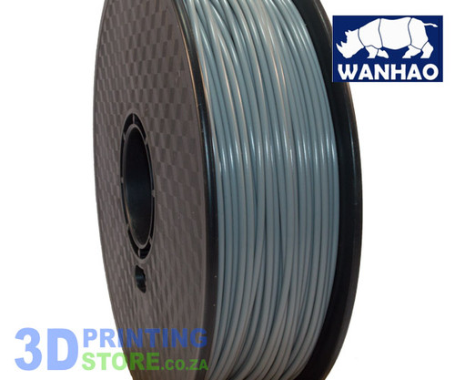 Wanhao ABS FIlament, 1Kg, 3mm, Grey