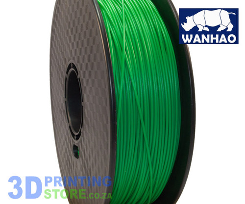 Wanhao PLA Filament, 1Kg, 3mm, Green