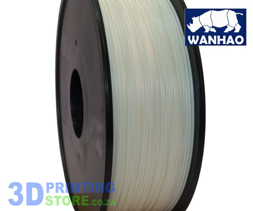 Wanhao ABS Filament, 1Kg, 1.75mm, Natural