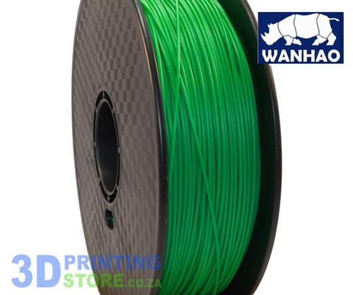 Wanhao ABS Filament, 1Kg, 1.75mm, Green