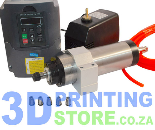 Spindle Kit, 1.5KW, Water Cooled