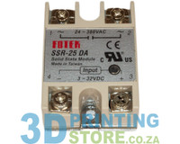 Solid State Relay, 25A, AC output