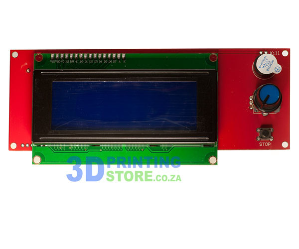LCD display with SD card reader for RAMPS 1 4