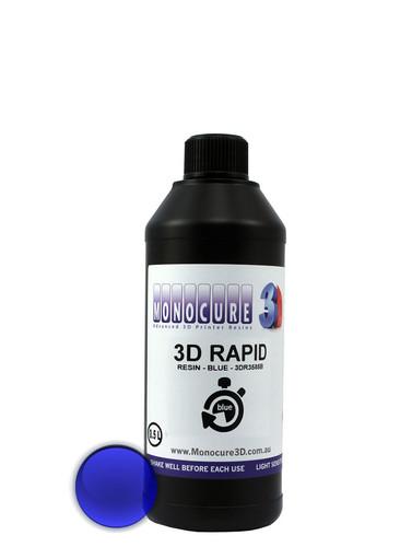 Monocure Rapid Resin, 1ℓ, Blue