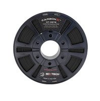 3DX Tech CarbonX PETG Filament, 1.75mm, 0.75kg, Black