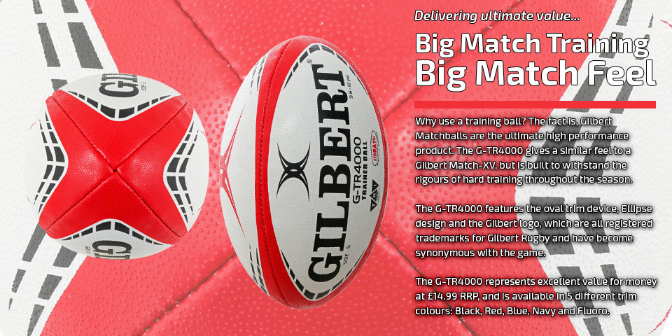 Gilbert Rugby - GTR4000 Showcase | Rugby Ball