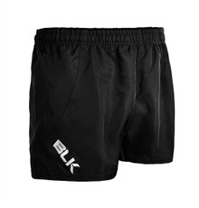 BLK TEK Junior Rugby Shorts - Black