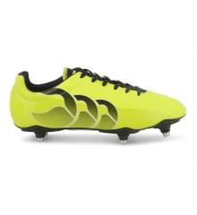 Canterbury Speed Club 6 Stud Rugby Boots - Sulphur/Black
