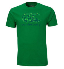 Our popular CCC logo tee with an Irish twist! Green tonal screenprint front. 100% Cotton.