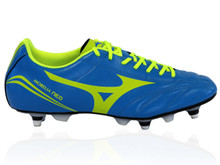 Mizuno Morelia Neo Classic Rugby Boot SG - Blue/Yellow