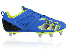 Canterbury Phoenix Club 8 Stud Rugby Boot Blue