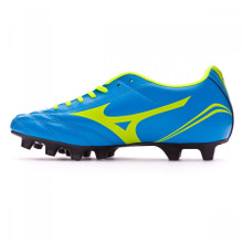 Mizuno Morelia Neo CL MD Rugby Boots - Diva Blue/ Yellow