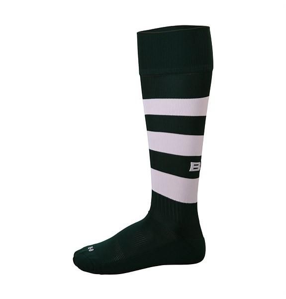 Green Rugby Socks: BLK TEK Rugby Socks